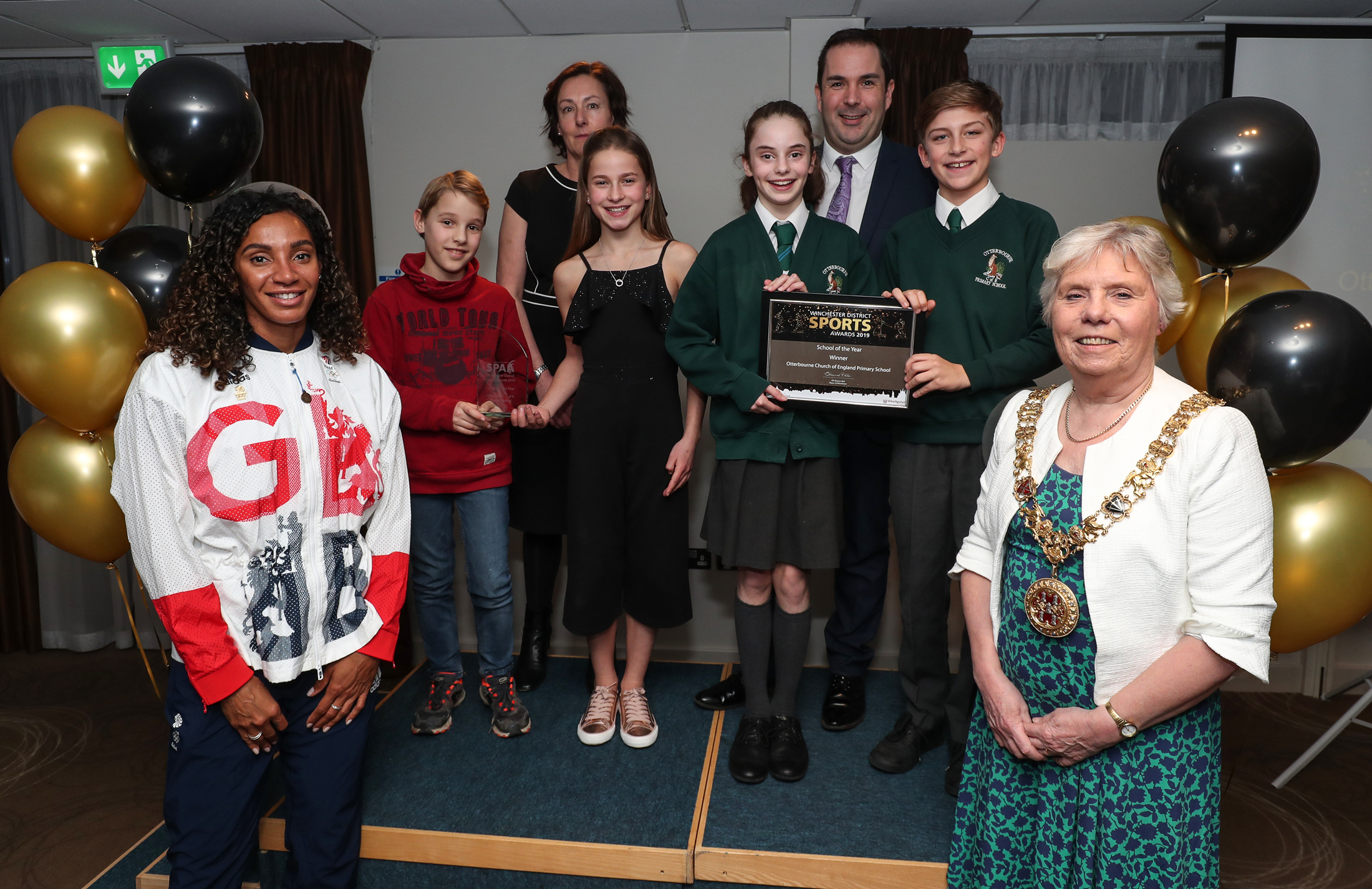 School of the Year - Otterbourne C of E Primary School