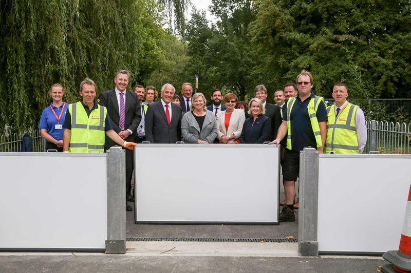 Flood Defence barriers