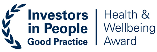 Investors in people - Health and wellbeing