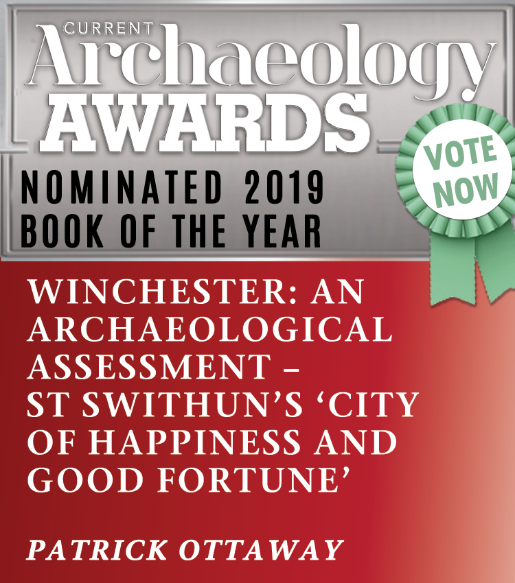 Current Archaeology Book of the year nomination