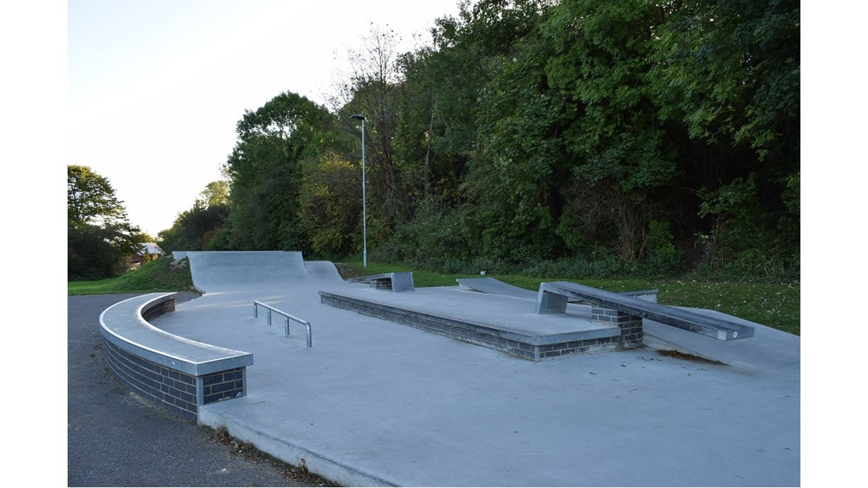 Somers Close Skatepark, Stanmore