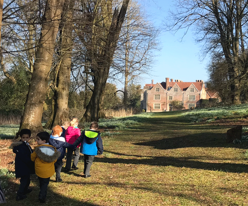 article thumb - Children in the gardens of Chawton House