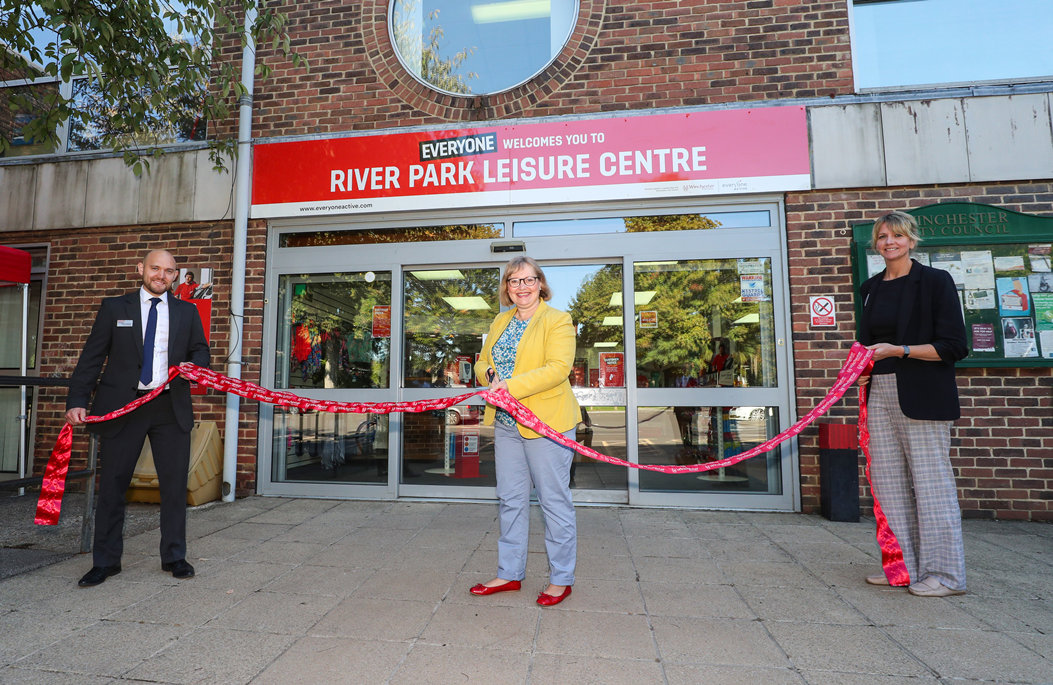Leisure centre reopening