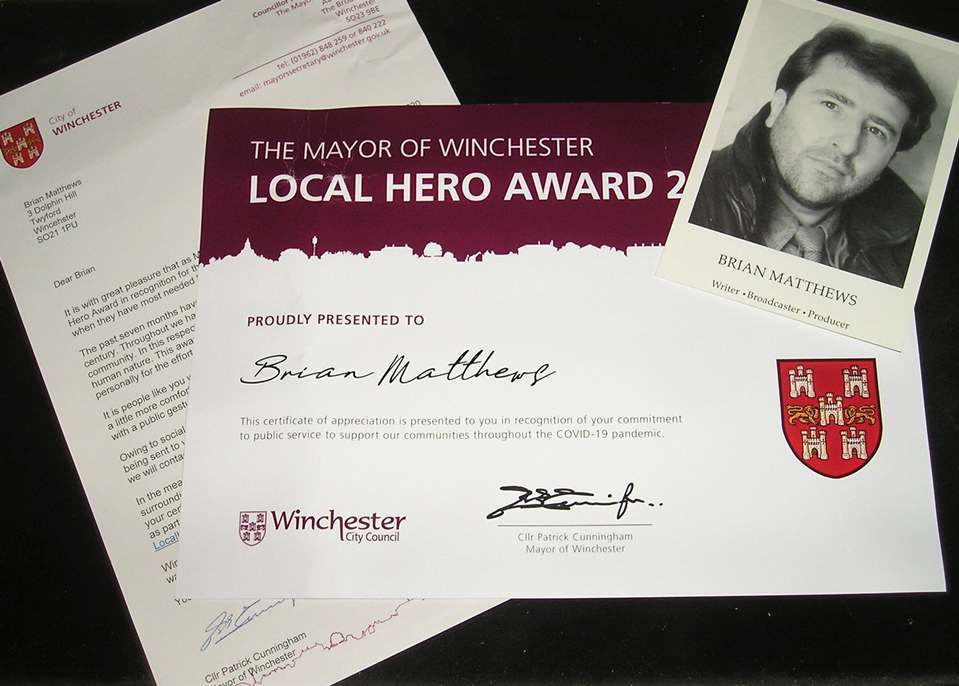 Local hero award